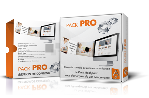 Pack Pro - Site Internet professionnel